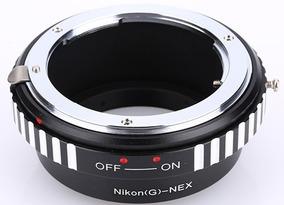 Anel Adaptador Lente Nikon Ai G Ai(g)-nex Sony Nex-7 6 5 3