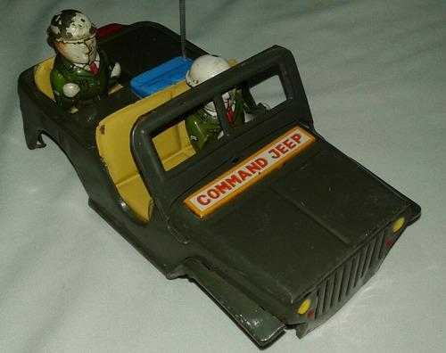 Carroceria Jeep Carro Juguete Antiguo Hojalata Japones Leer