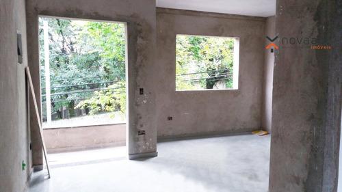 Sobrado Com 2 Dormitórios À Venda, 120 M² Por R$ 465.000 - Parque Erasmo Assunção - Santo André/sp - So0453