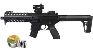 Rifle Sig Sauer Mpx Dot Sight Diabolos Co2 90gr Cal .177 Kit