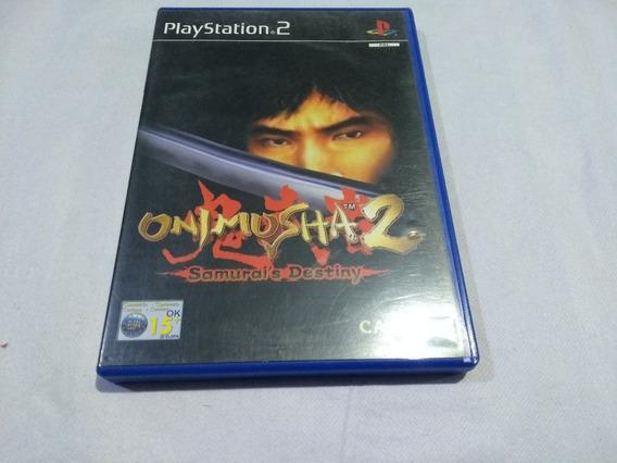 Onimusha 2 Original Europeu Ing E Espanhol Playstation 2 Ps2