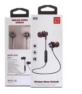 Auricular In-ear Bluetooth Mic. Magnet Sport Samsung iPhone