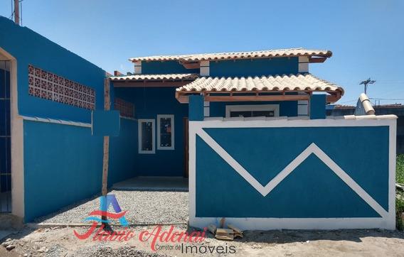Linda Casa 2 Quartos, Próximo A Rodovia, Em Unamar, Cabo Frio - Fac 223 - 34139915