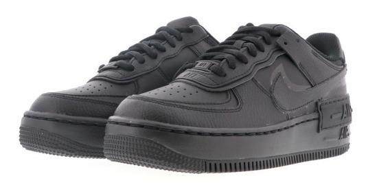Nike Air Force Shadow Black Original Mujer Cod 0159