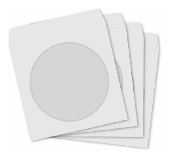1000 Envelopes Papel Para Dvd Cd Com Visor Frete Grátis !!!