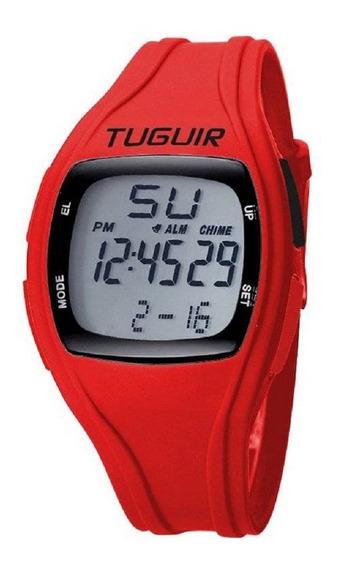 Relógio Unissex Tuguir Digital Tg1602 - Garantia 1 Ano C Nfe