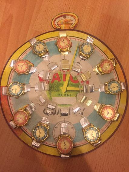Relojes Infantiles Vintage Lote De 12 Unidades