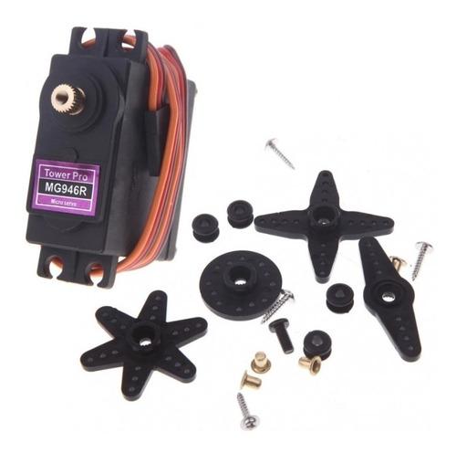 Imagen 1 de 10 de Mg946r Motor Servo 13kg De Torque Analogico Peso 55g Arduino