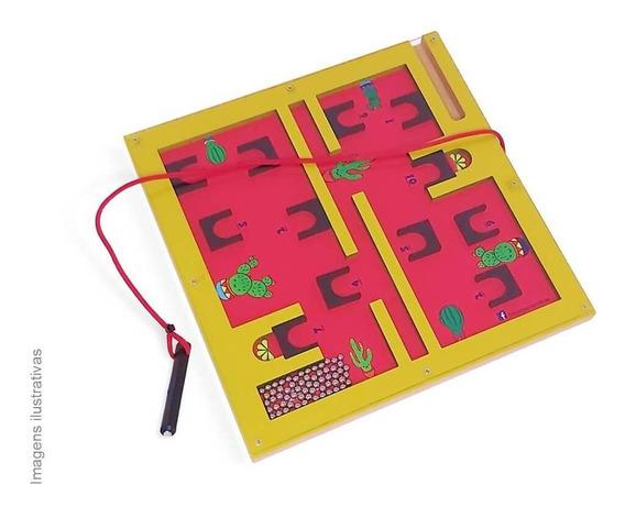 Jogo Labirinto Magnético Quantidades Educativo À Vista