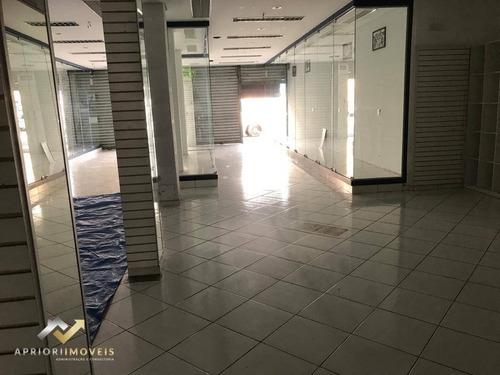 Salão Para Alugar, 400 M² Por R$ 12.000/mês - Vila Pires - Santo André/sp - Sl0171
