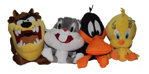 Peluche Bebes Looney Tunes Piolin Pato Luchas