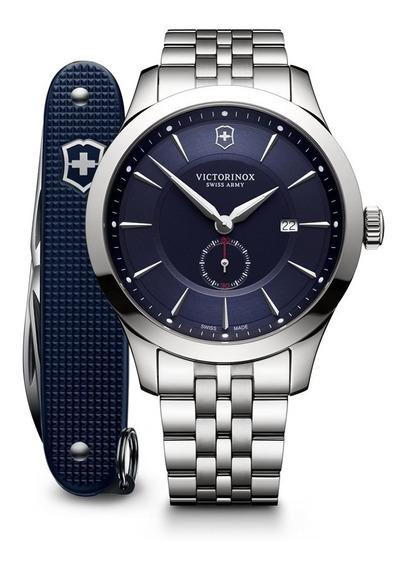 Relógio Victorinox Alliance Chronograph Com Canivete Pionner