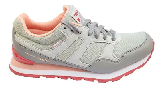Zapatillas Topper Tilly Mujer Gris
