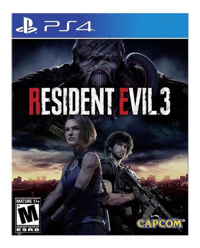 Imagen 1 de 4 de Resident Evil 3 Remake Capcom PS4 Digital