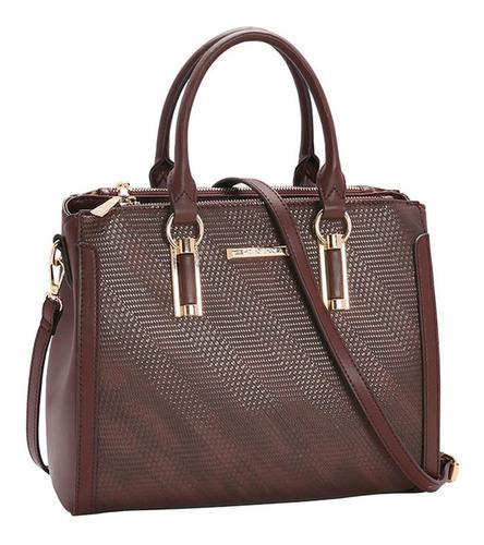 Bolsa Feminina Chenson Detalhe Xadrez 3482932