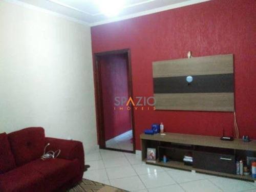 Imagem 1 de 6 de Casa Com 1 Dormitório À Venda, 47 M² Por R$ 170.000,00 - Jardim Novo Ii - Rio Claro/sp - Ca0550