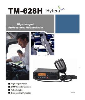 Radio Tm628h Hytera Analogico Movil Vhf 128ch 50w 136-174