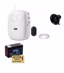 Kit Central Intelbras Elc5002+bateria 12v+sirene +f Gratis