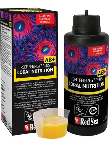 Imagen 1 de 1 de Reef Energy Plus Ab+ 500 Ml Alimento De Coral Todo En Uno