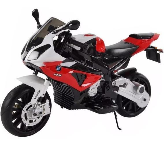 Moto Bateria Bmw Niños 12v Biemme 3a8 Año Con O S/rueditas