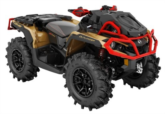 Quadriciclo Brp Can-am Outlander 1000 Xmr - Novo
