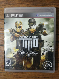 Army Of Two The Devils Cartel Playstation 3 Ps3 !!