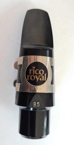Bocal Boquilha Rico Royal Usado B5