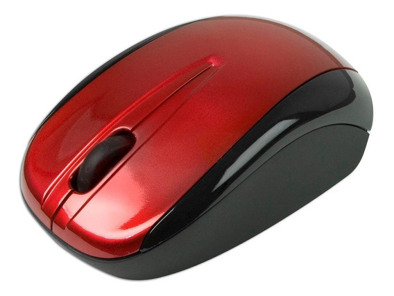 Mouse Optico Verbatim Rojo 96897