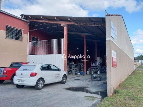 Barracão À Venda, 485 M² Por R$ 800.000,00 - Jardim Paulista - Campina Grande Do Sul/pr - Ba0018
