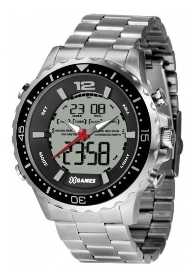 Relógio X Games Masculino Xmssa008 Bxsx Prata - Refinado