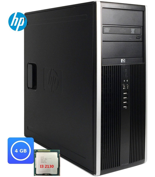 Desktop Cpu Pc Hp Compaq 6200 Core I5 - 2400 4gb Sem Hd