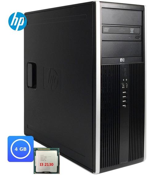 Desktop Cpu Pc Hp Compaq 6200 Core I5 - 2400 Hd 250 6gb W10