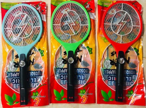 Cargador Universal por USB Raqueta Mosquitos Electrica con Iluminaci/ón LED Hospaop Raqueta Mosquitos Recargable El/éctrico Mosquito Matamoscas Zapper Plagas Insectos Asesino Repelente