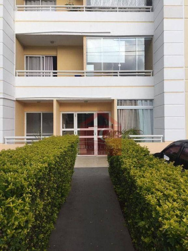 Apartamento Com 2 Dormitórios Para Alugar, 45 M² Por R$ 1.000,00/mês - Jardim Ísis - Cotia/sp - Ap0292