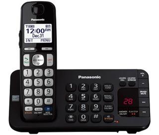 Telefono Inalambrico Panasonic Negro Bloqueo De Llamadas Id