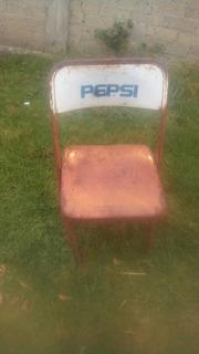 Silla Antigua Pepsi Coleccion