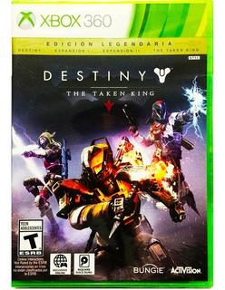 Destiny The Taken King Edicion Legendaria Nuevo - Xbox 360