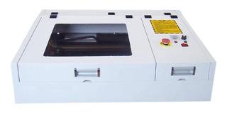 Cnc 40x40 Cm 50w Co2 / Sistema Antiflama