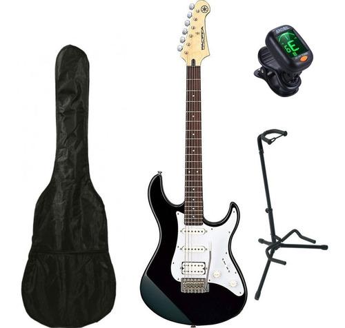 Yamaha Pac012bl Guitarra Electrica Funda Base Y Afinador
