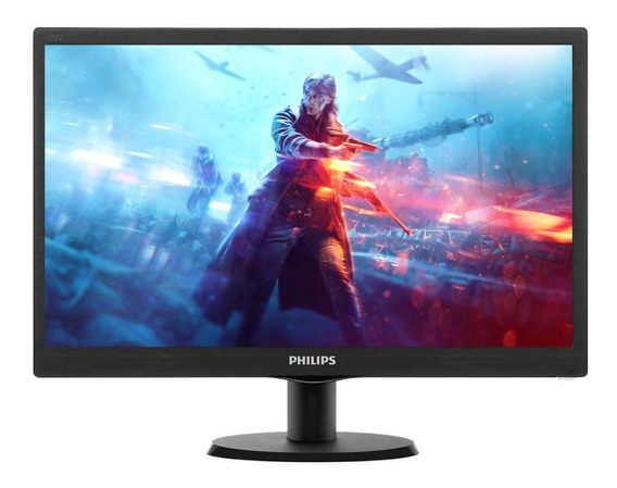 Monitor Philips 223v5lhsb Led 22 21.5 Full Hd 5ms Vga Hdmi