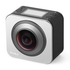 Moka360 A Menor Camera 360 Do Mundo (panoramica Duas Lentes)