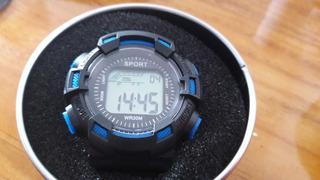 Reloj Desportivo Hombre, Cronómetro, Luz Alarme.