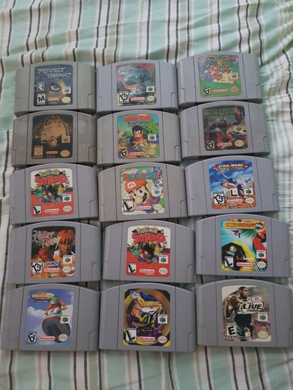 15 Jogos De Nintendo 64