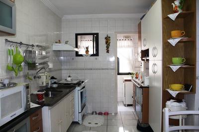 Apartamento A Venda No Bairro Vila Tupi Em Praia Grande - - 102-1