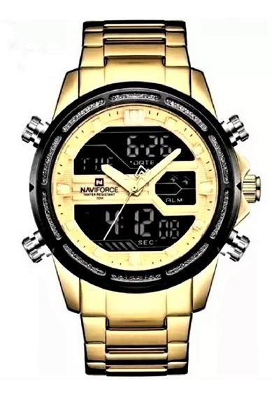Relógio Naviforce Masculino Digital Esportivo Original 9138