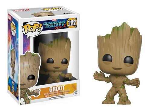 Funko Pop! Marvel #202 Guardians Galaxy 2 Groot Nortoys