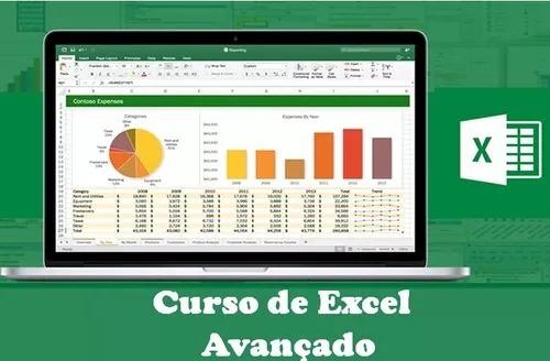 Curso De Excel Basico Intermediario Avancado 76 Video Aulas Mercado Livre