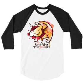 Playera Raglan 3/4 Rey Leon Disney Remember Who You Are