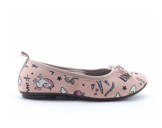 Zapato Balerina Unicornio Molekinha Liquidacion 2502.344