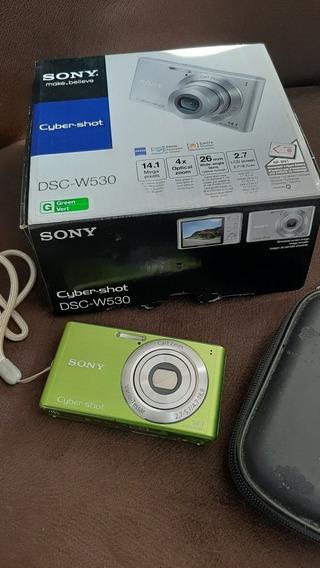 Câmera Cyber Shot Sony 14.1 Mega Pixels Pouco Uso